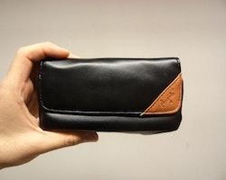 Pipväska av läder: SMALL
