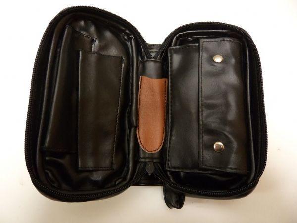 Pipväska av läder: MEDIUM