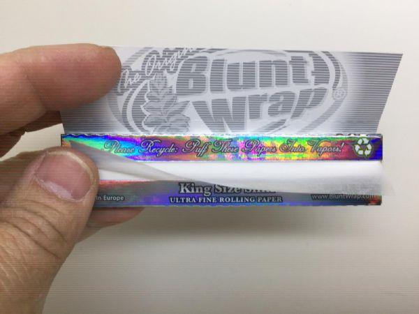 Bluntwrap Kingsize Slims 12st (cigarettpapper)