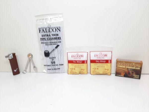 Falcon pipor BÖJD + tillbehör