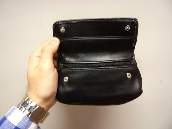 Pipset: Böjd Minipipa med väska + tillbehör