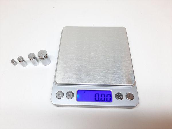 Digitalvåg 500 / 0.01 gram