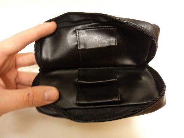 Pipset: Böjd pipa med väska + tillbehör