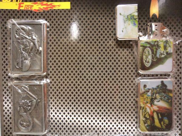 Bensintändare Mixed Motorcykel DISPLAY