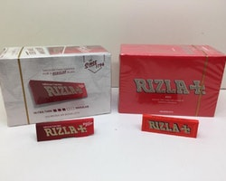 Rizla Röd Mini DISPLAY (100 st) cigarettpapper