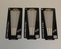 Färdigrullade koniska cigarettpapper (3 förpackningar x 3st)