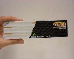Färdigrullade koniska cigarettpapper (1 förpackning x 50st)