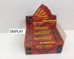 Amsterdam Kingsize Slim DISPLAY (cigarettpapper)