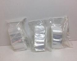 Blixtlåspåsar / Zippåsar: 35x55 mm