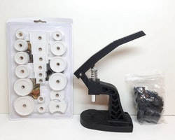 Boettpress + Pressplattor (Klocka/urmakeri verktyg)
