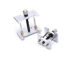 Klockhållare i metall (2st) - Klocka/urmakeri verktyg