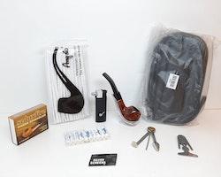 Pipset: Angelo pipa med väska + tillbehör