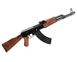 AK47 med trästock Replika