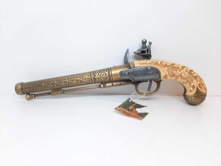 Flintlåspistol (pirat pistol) replika