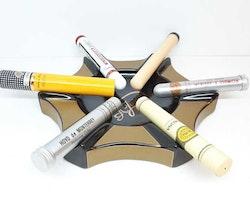 Cigarraskkopp / Askfat för 6 cigarrer + tillbehör