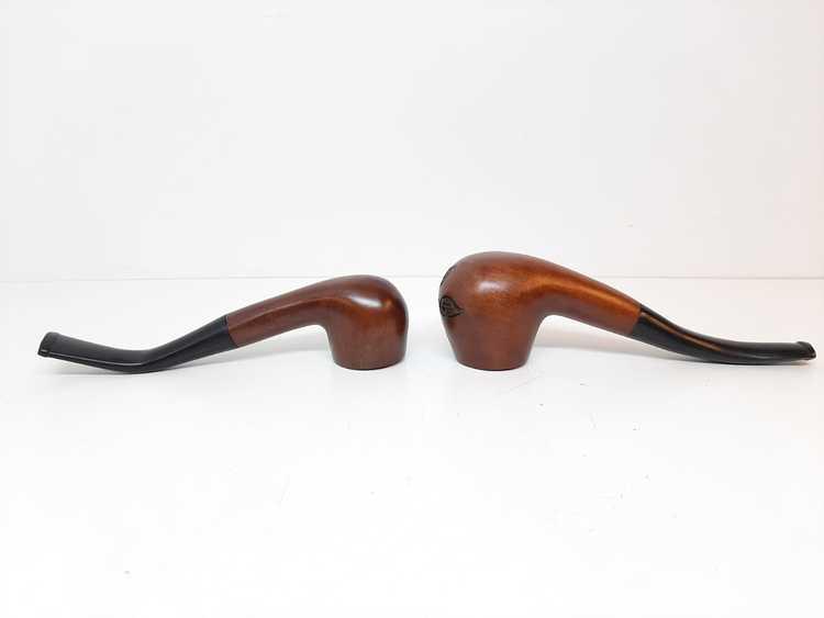 Två Kinapipor (Liten & Stor pipa)