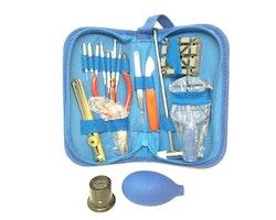 Set: verktyg för klocka & urmakeri