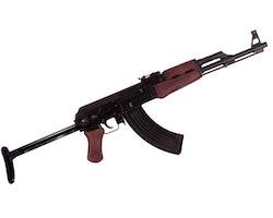 AK47 med metallstock Replika