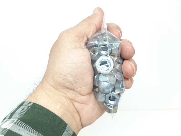 Blixtlåspåsar / Zippåsar: 70x100 mm