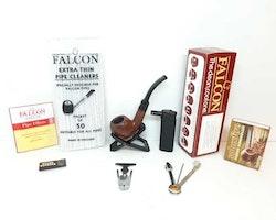 Falcon pipa + tillbehör