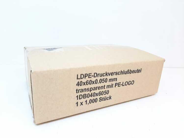 Blixtlåspåsar / Zippåsar: 40x60 mm