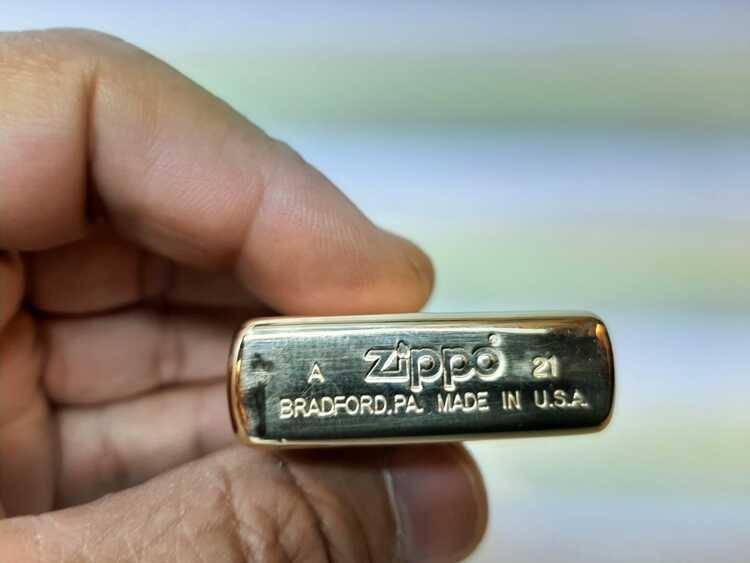 Zippotändare GOLD ULTIMATE + tillbehör