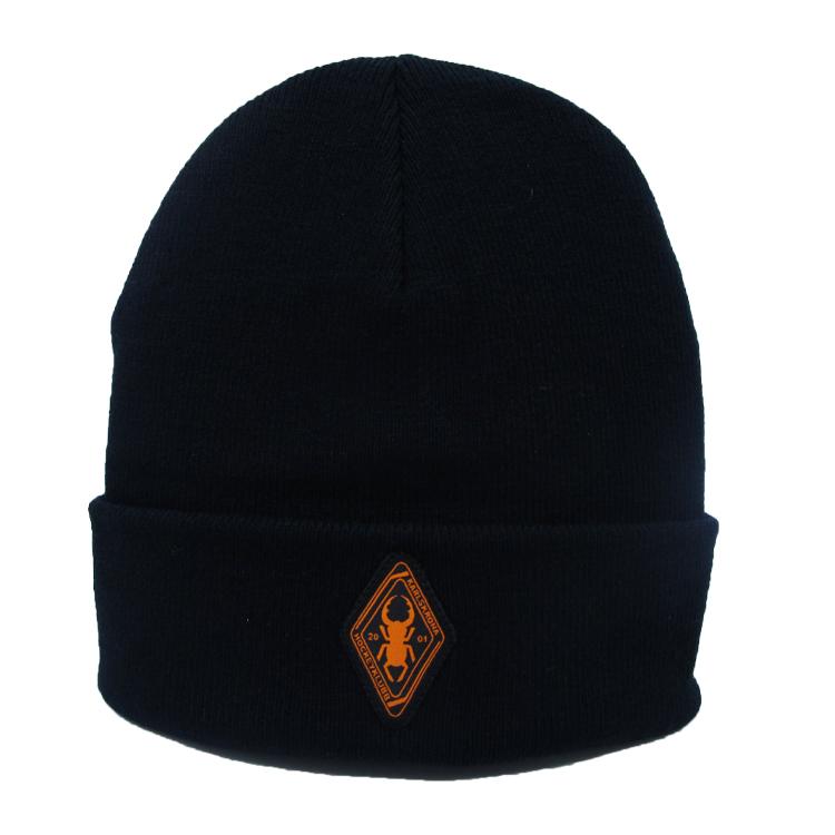 KHK beanie, orange logo
