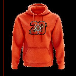 KHK jubileums hoodie Sr, orange