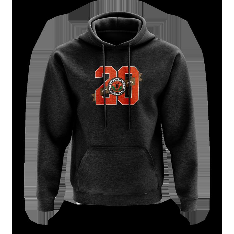 KHK jubileums hoodie Jr, svart