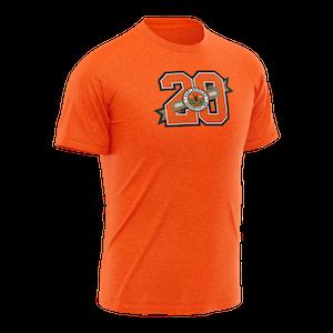 KHK jubileums T-shirt, orange