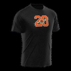 KHK jubileums T-shirt, svart