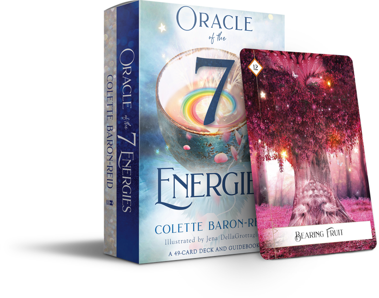 Oracle of the 7 Energies : A 49-Card Deck and Guidebook by Colette Baron-Reid