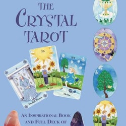 The Crystal Tarot : An Inspirational Book and Full Deck of 78 Tarot Cards by Philip Permutt