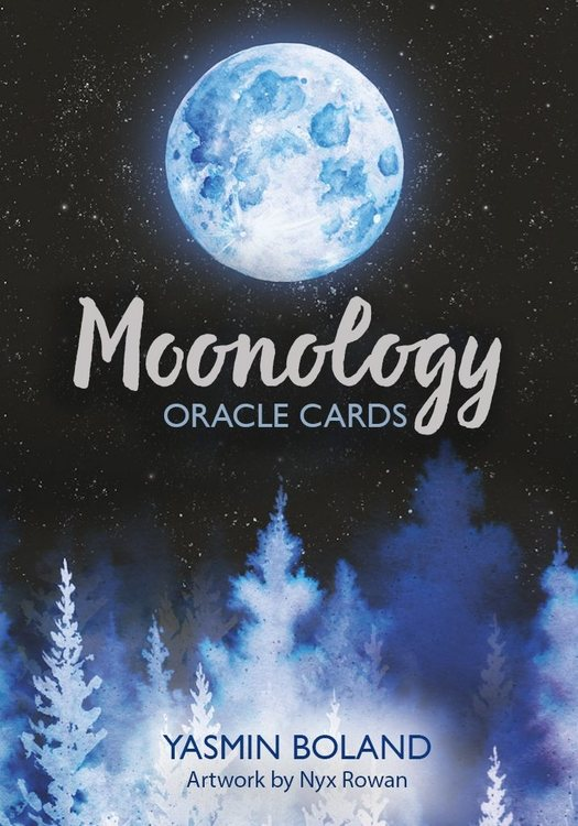 Moonology Oracle Cards : A 44-Card Deck and Guidebook by Yasmin Boland