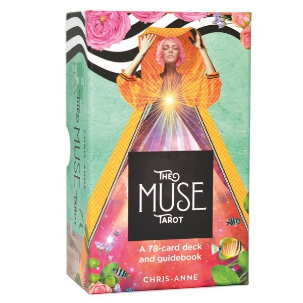 The Muse Tarot : A 78-Card Deck and Guidebook by Chris-Anne