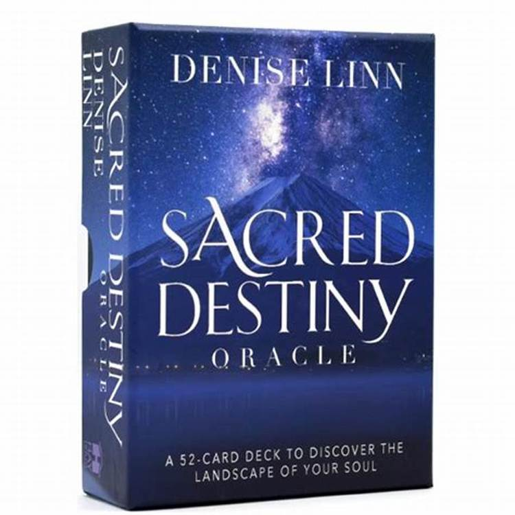 Sacred Destiny Oracle A 52-Card Deck to Discover the Landscape of Your Soul  av Denise Linn
