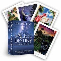 Sacred Destiny Oracle A 52-Card Deck to Discover the Landscape of Your Soul  av Denise Linn