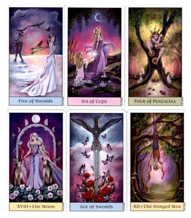 Crystal Visions Tarot by Jennifer Galasso