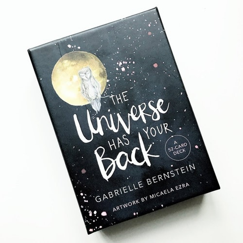 The Universe Has Your Back  A 52-card Deck by Gabrielle Bernstein