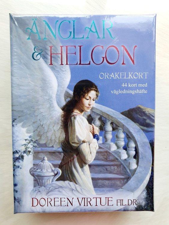 Änglar & Helgon orakelkort av Doreen Virtue