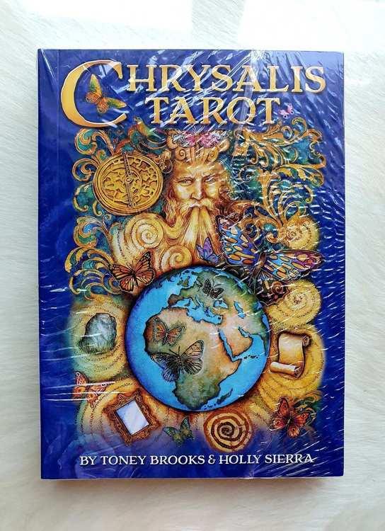 Chrysalis Tarot Companion Book by Holly Sierra, Toney Brooks