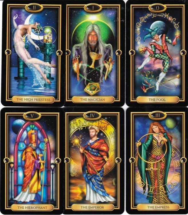 The Gilded Tarot deck by Ciro Marchetti