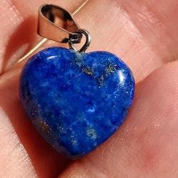 1 st Lapis Lazuli hjärta, hänge
