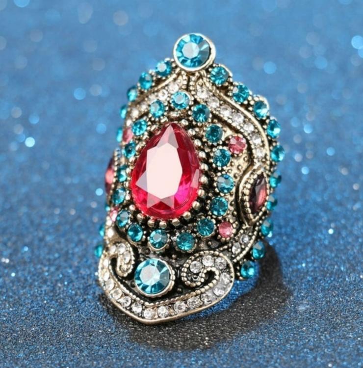 Tibet Mandala Ring