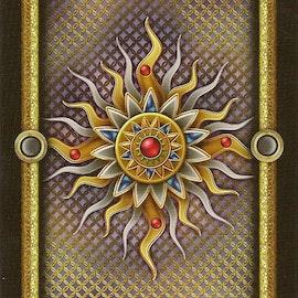 Gilded Tarot Royale  by Ciro Marchetti, Barbara Moore