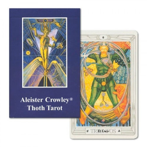 Aleister Crowley Thoth Tarot - AGM English