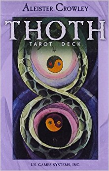 Crowley Thoth Tarot Deck Standard Size Cards  av Aleister Crowley