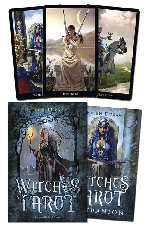 Witches Tarot by Elen Dugan and Mark Evans