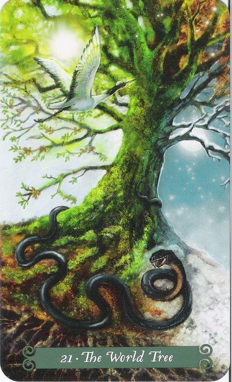 The Green Witch Tarot  by Ann Moura, Kiri Ostergaard Leonard