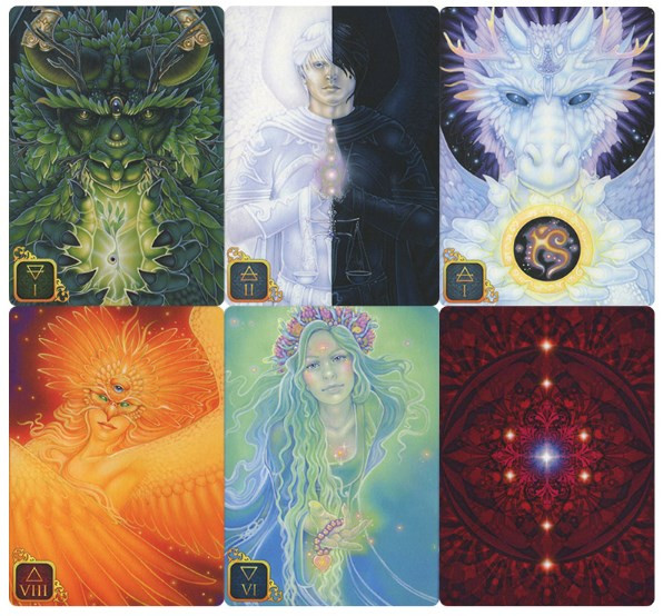 Dreams of Gaia Tarot -  A Tarot for a New Era by Ravynne Phelan